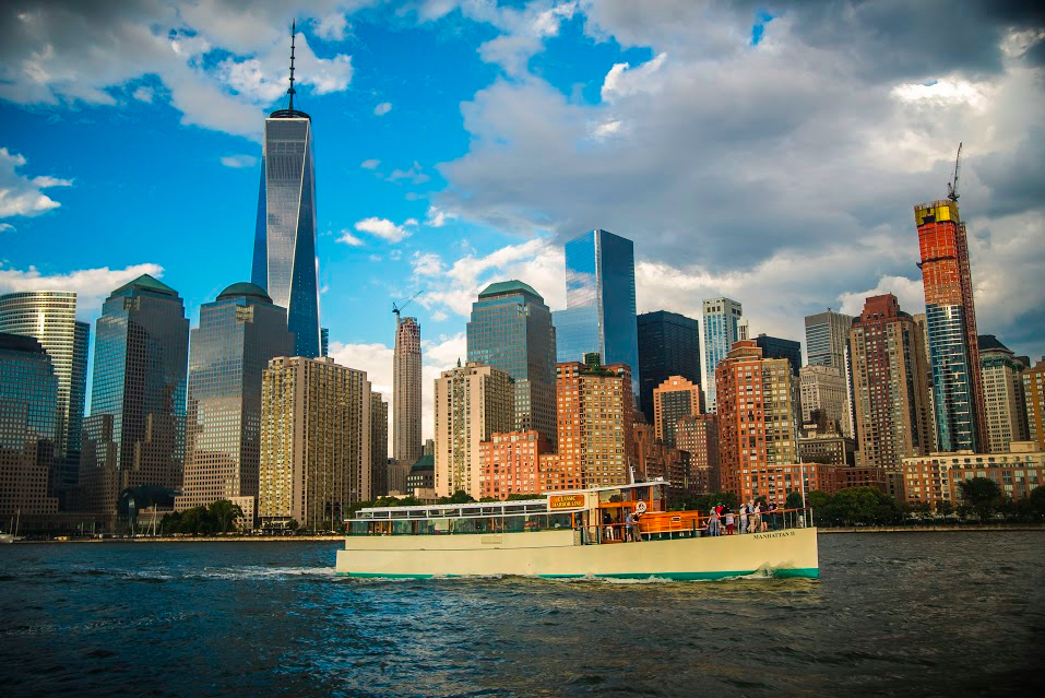 Cruise New York's Historic Waterways on the Manhattan II with Expert Guide