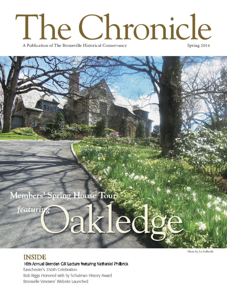 thumbnail of The Chronicle Spring 2014_MesRespdf