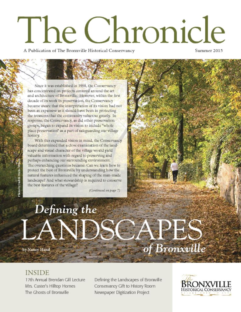 thumbnail of The Chronicle Spring 2015_MedRes